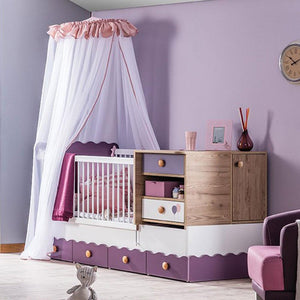 VIOLA Grow Baby Extendable Bed (V-492)