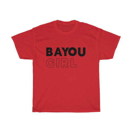 Bayou Girl Unisex Heavy Cotton Tee