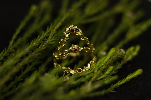TANGLE SEAWEED RING [fucus vesiculosis] - CLIO SASKIA