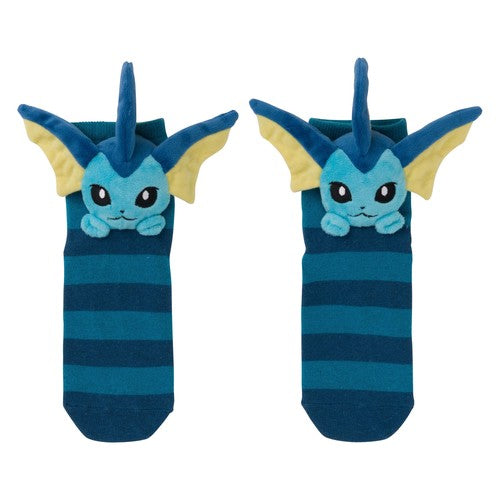 Eeveelution Faces - Vaporeon (Short Socks)