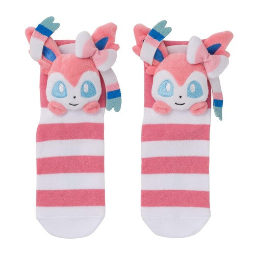 Eeveelution Faces - Sylveon (Short Socks)