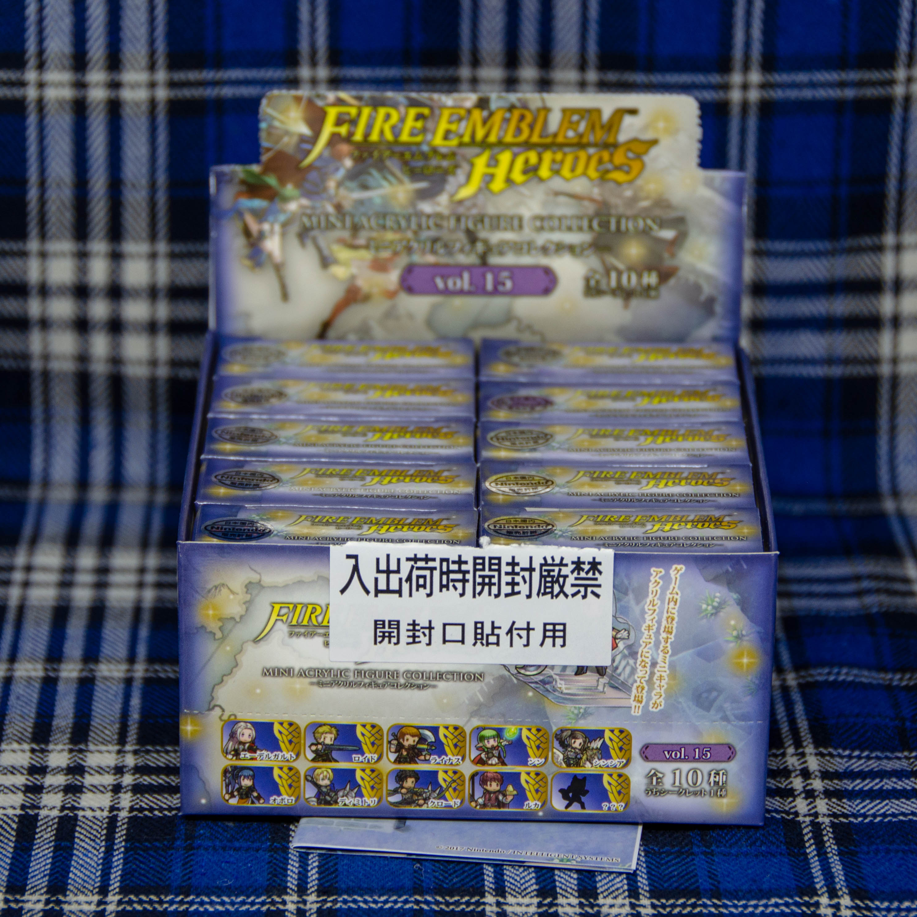 Fire Emblem Heroes: Mini Acrylic Figure Collection Vol.15