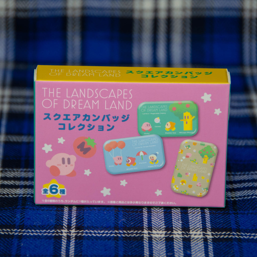 Kirby: The Landscape of Dreamland Buttons (Blind Box)