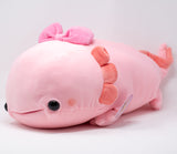 Axolotl Love - Pink w/ Bow (Large)