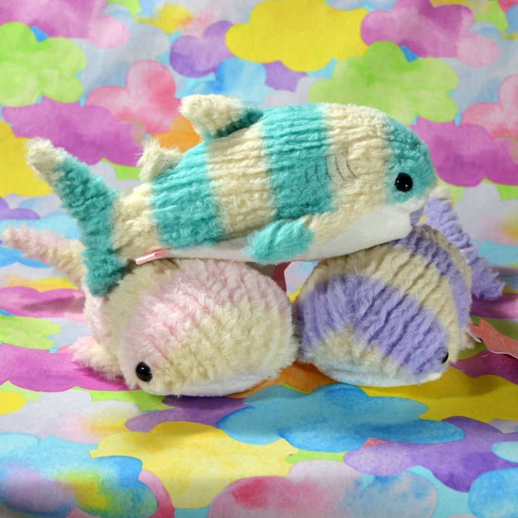 Fluffy Knitted Whale Sharks (Small)