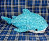 Whale Shark - Fluffy - Teal (Large)