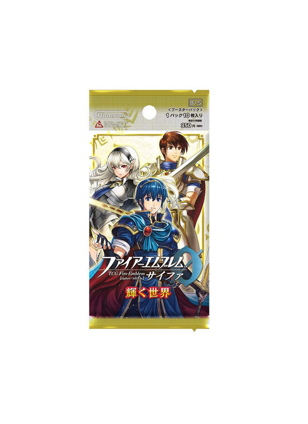 Fire Emblem Cipher: B15 - The Glimmering World (Booster Pack)
