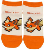Pixel Art - Flareon (Short Socks)