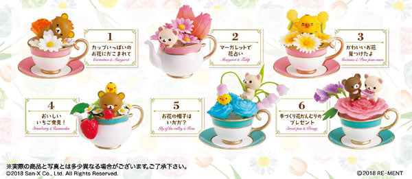 Rilakkuma Flower Tea Cup (Blind Box)