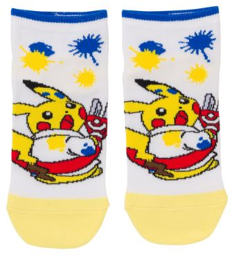 Laboratory - Pikachu (Short Socks)