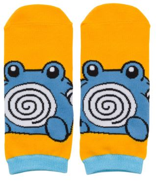 Poliwhirl Pokedoll Short Socks