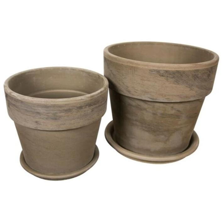 Calima Pot Basalt Eurocotta (from 13 to 31cm high)