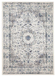 EVOKE RUG | WHITE & BLUE
