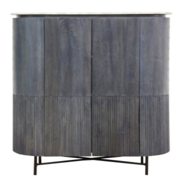 Elipsis Cabinet with Marble Top