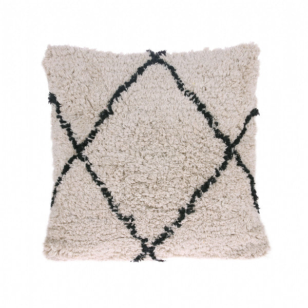 Cotton Diamond Cushion