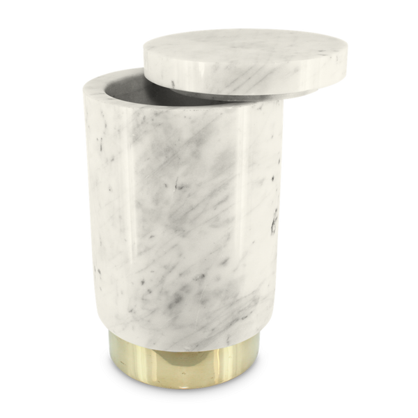 The Ava Champagne Chiller (white marble)