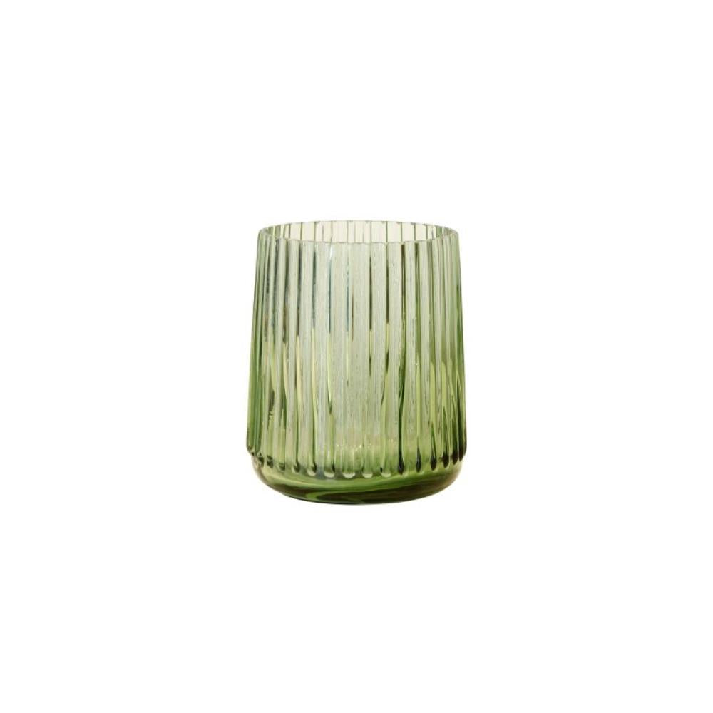 Green Glass Vase (small)