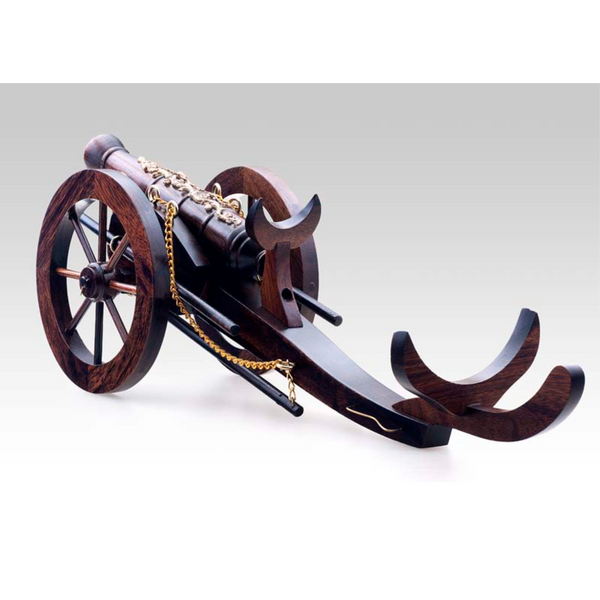 Cannon Wine Bottle Holder
