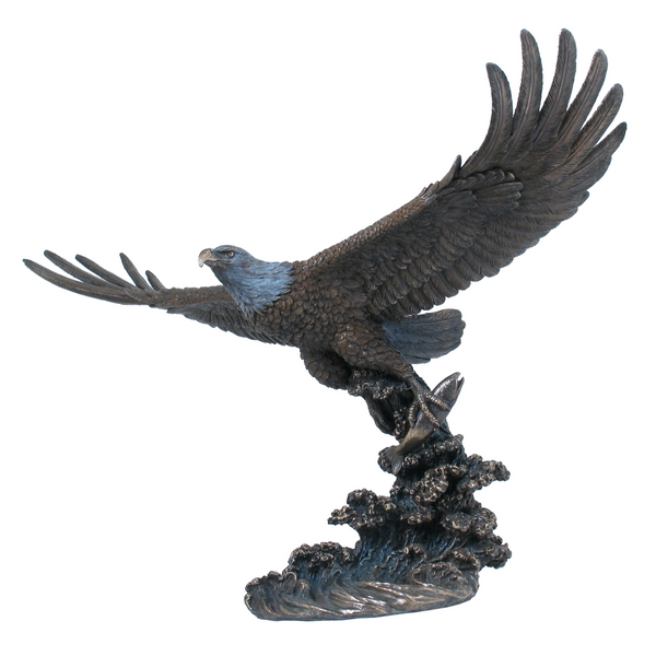 Bronze Soaring Eagle