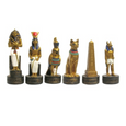Egyptian Chess Set + Chess Board