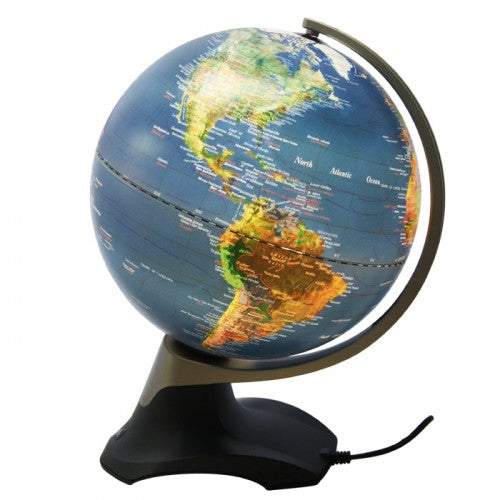 Rotating Globe with LED