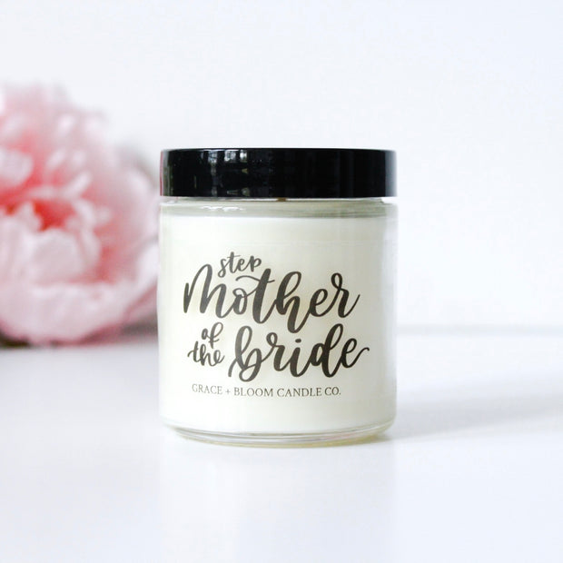 Mothers of the Bride + Groom Candles - Grace + Bloom Co