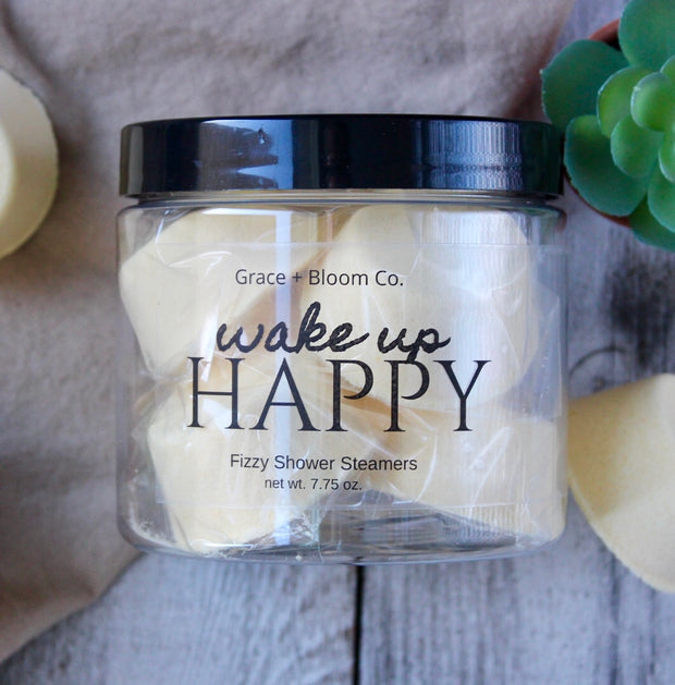 These fizzy yellow shower steamers from Grace + Bloom are made from all-natural ingredients and are scented with essential oils