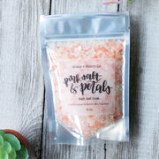 Pink Salt & Petals Bath Salts - Grace + Bloom Co