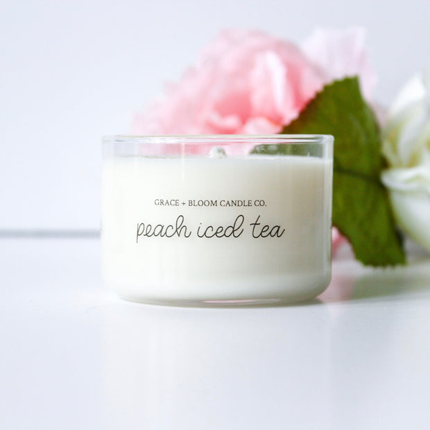 Peach Iced Tea Mini Candles