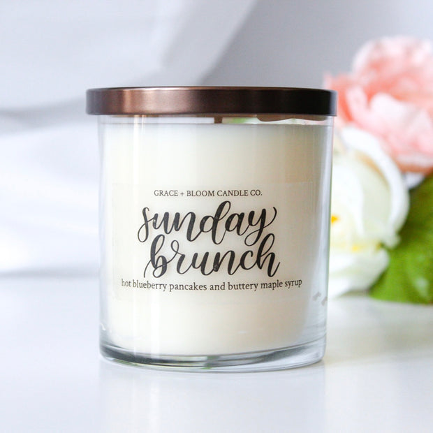 Sunday Brunch Soy Candle - Grace + Bloom Co