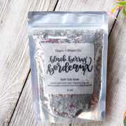 Black Berry Bordeaux Bath Salts