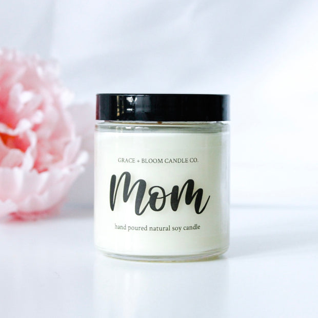 Mother's Day Small Candle | Choose a Scent - Grace + Bloom Co