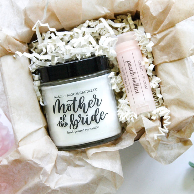 Mother of the Bride + Groom Mini Gift Box - Grace + Bloom Co