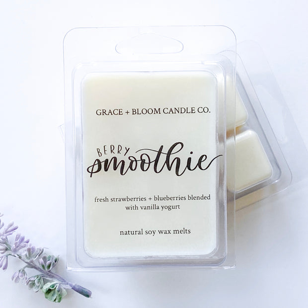 Berry Smoothie Wax Melts - Grace + Bloom Co