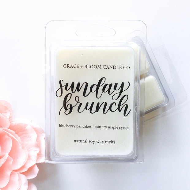 Sunday Brunch Wax Melts - Grace + Bloom Co