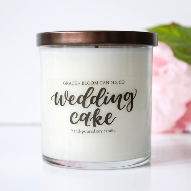 Wedding Cake Large Candle - Grace + Bloom Co