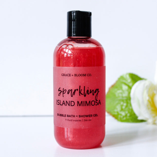 Sparkling Island Mimosa Bubble Bath - Grace + Bloom Co