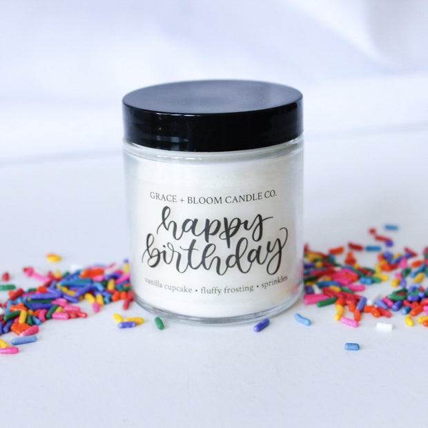 These cake-scented candles look adorable when added to gift boxes. Your birthday party guests would love to receive one of these candles as a sweet reminder of the fun they had at your special event!