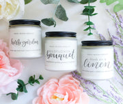 Small Soy Candle | Choose a Scent - Grace + Bloom Co