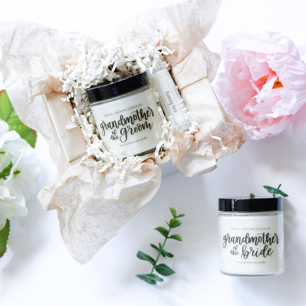 Grandmother of the Bride + Groom Mini Gift Box - Grace + Bloom Co
