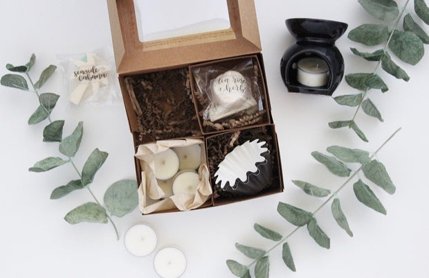 Wax Melts Boxed Gift Set - Grace + Bloom Co