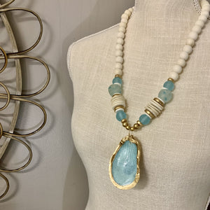 The Cora Necklace | Blue Snake