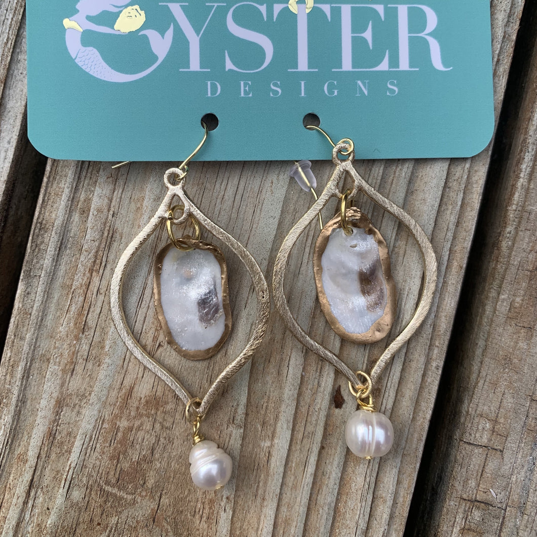 Hallspoint Oyster Earrings