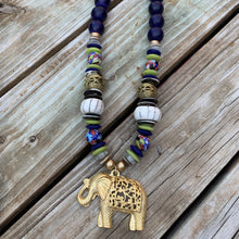 Load image into Gallery viewer, Baby Elephant Necklace