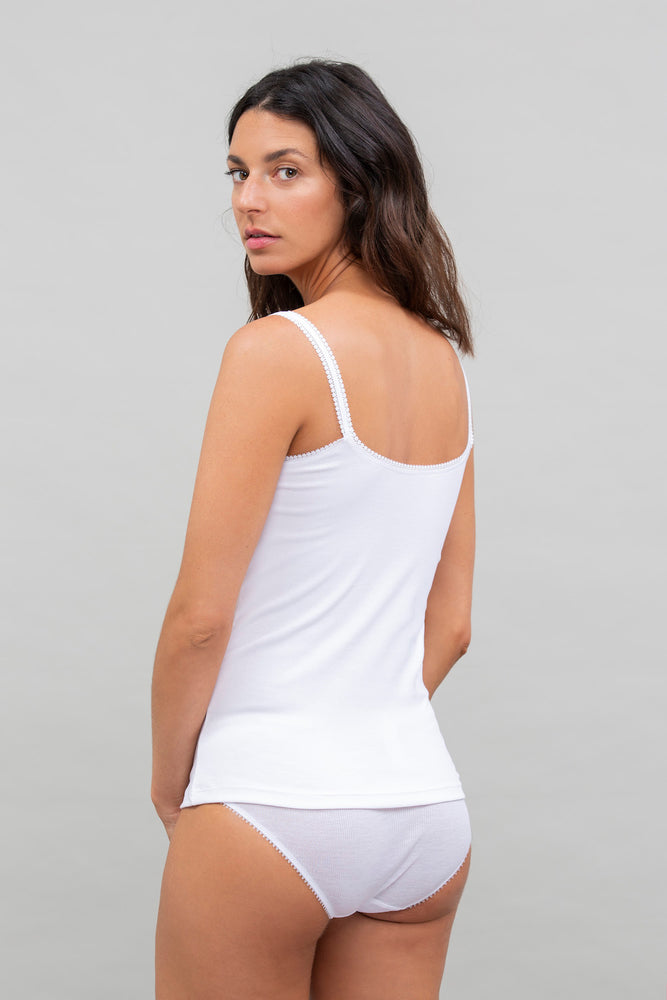 Cabana Cotton Reversible Camisole