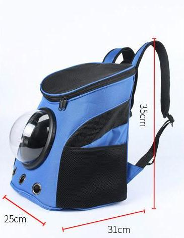 Cute Carrier Capsule Shaped Pet Travel Carrying Breathable Shoulder Backpack Outside Travel Portable Bag