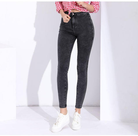 Skinny Denim Stretch Tight High Waist Jean