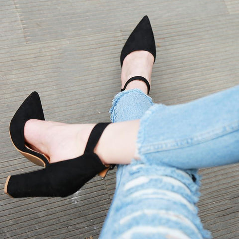High Heels Ankle Strap Heel
