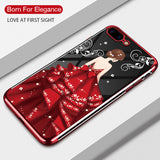 Luxury Transparent Silicone Clear Glitter Shockproof Bumper Case