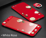 Cute Flower 360 Full Body Protective Bumper Case Limited Stock Hurry-Up